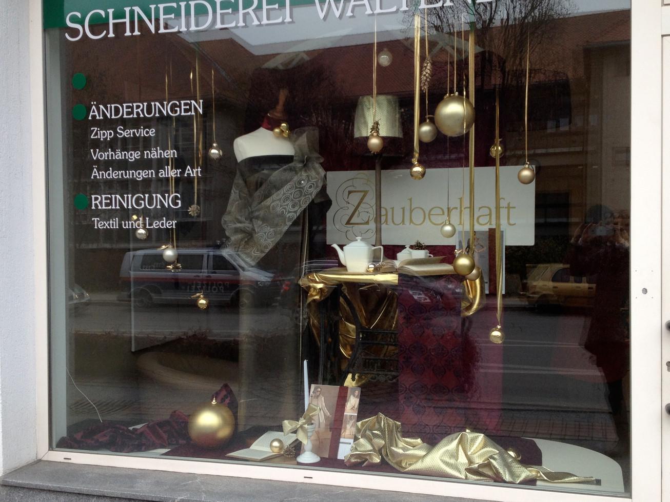 Schneiderei geidorf isolde skrabitz for Schaufensterdekoration schmuck